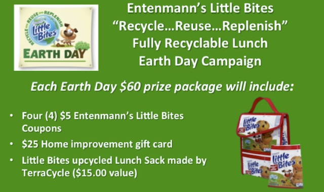 Recycle Reuse Replenish Entenmanns