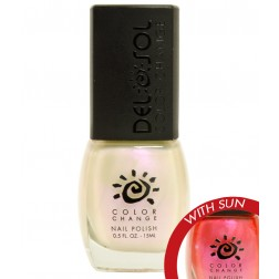 delsol pretty in pink nail polish