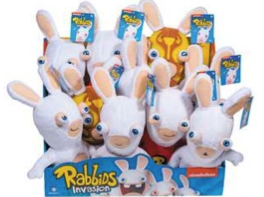 Rabbids plush toys