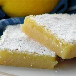lemon bars dessert