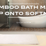 Bamboo Lifestyle with Cariloha Bath Mat Made Easy