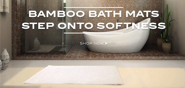 cariloha bamboo bath mat