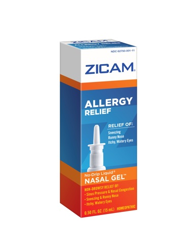 zicam nasal gel allergy