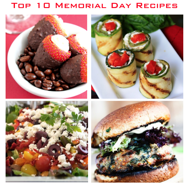 top 10 memorial day recipes