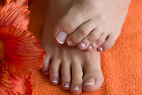 saving your Feet pedicure