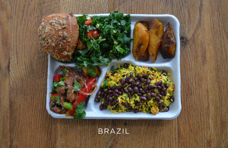 school lunch brazil