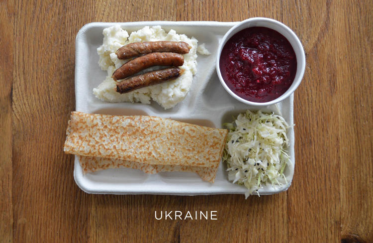 school lunch ukrain