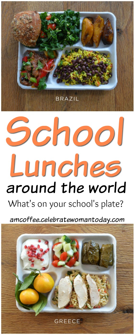 School Lunches Around the World, amcoffee, am coffee