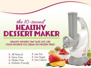 dessert bullet recipe maker