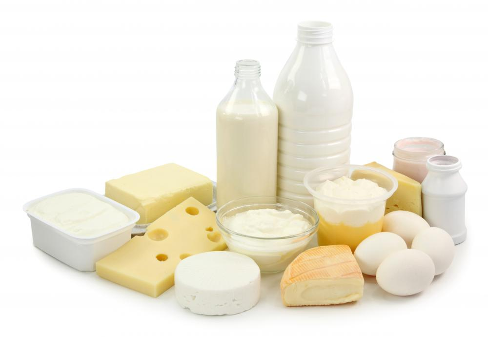 Dairy Products vitamin D foods