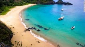 Baia do sancho beach brazil