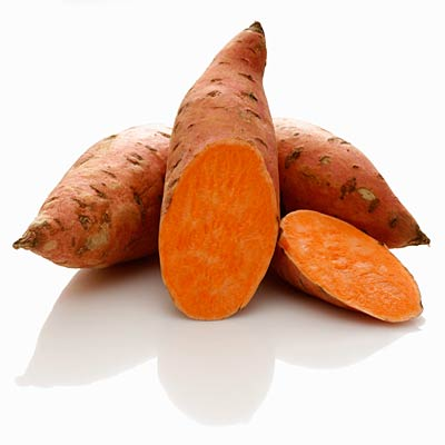 Sweet potatoes top foods for stronger hair