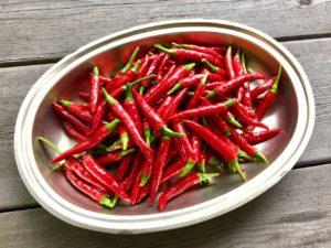 hot peppers benefits, capsaicin